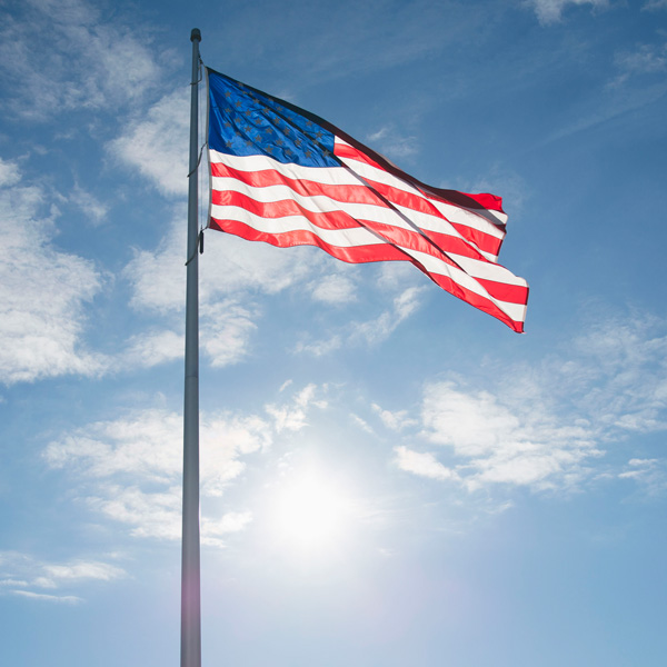 All of Our U.S. Flags Are Made in America