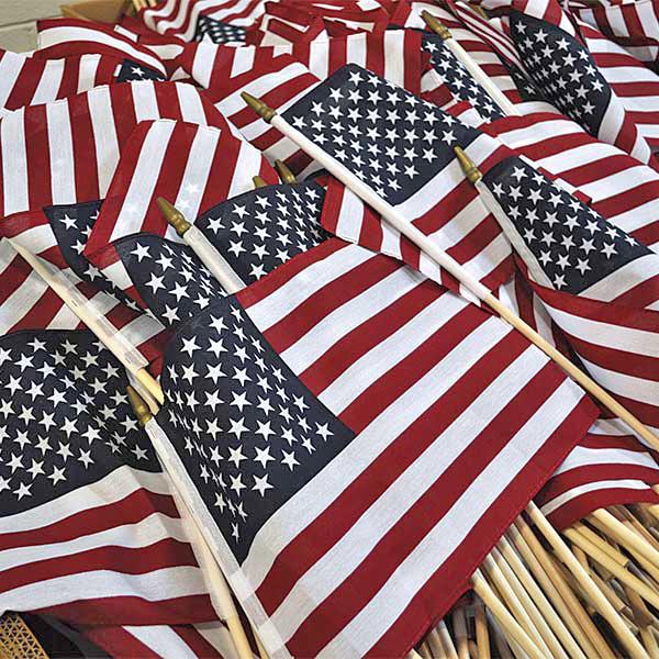 Handheld Flags